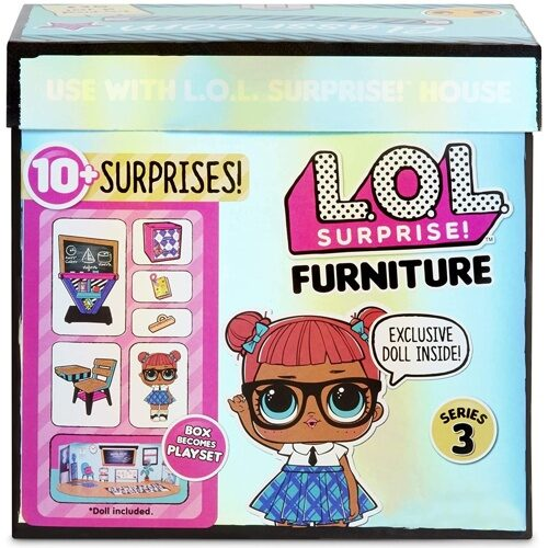 L.O.L. Surprise Furniture 570028 Classroom Классный кабинет с Teacher's Pet