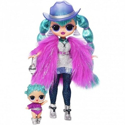 Набор MGA Entertainment LOL Surprise OMG Winter Disco Cosmic Nova с младшей сестренкой, 561804