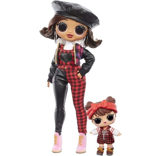 Кукла LOL Surprise OMG Winter Chill Camp Cutie Fashion Doll & Babe in The Woods Doll 570257
