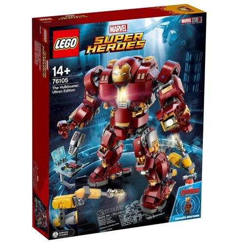 Конструктор LEGO Marvel Super Heroes 76105 Халкбастер: эра Альтрона