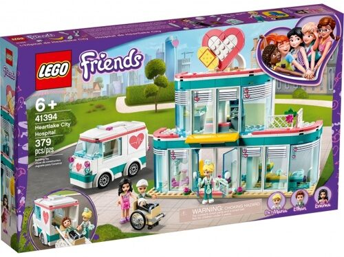 Конструктор LEGO Friends 41394 Городская больница Хартлейк Сити