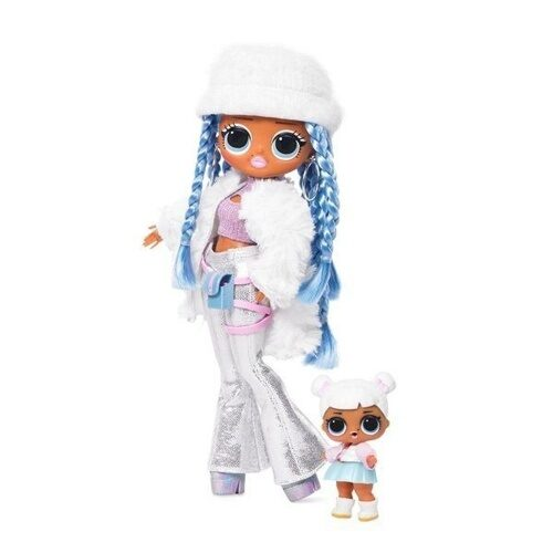 Набор MGA Entertainment LOL Surprise OMG Winter Disco Snowlicious с младшей сестренкой, 561828