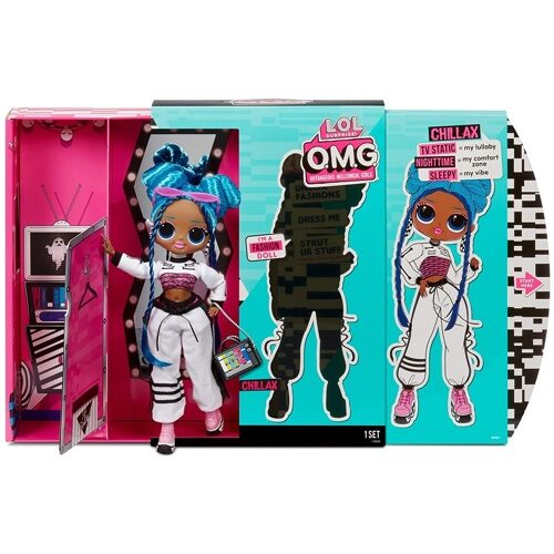 Кукла LOL Surprise OMG Chillax Fashion Doll 3 серия ОМГ Чилакс     570165