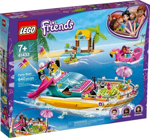 Конструктор LEGO Friends 41433 Яхта для вечеринок