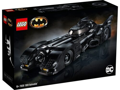 Конструктор LEGO DC Super Heroes 76139 1989 Batmobile
