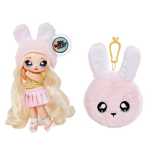 Кукла-загадка Na! Na! Na! Surprise 2-in-1, Fashion Doll & Plush Pom with Confetti Balloon, 565987